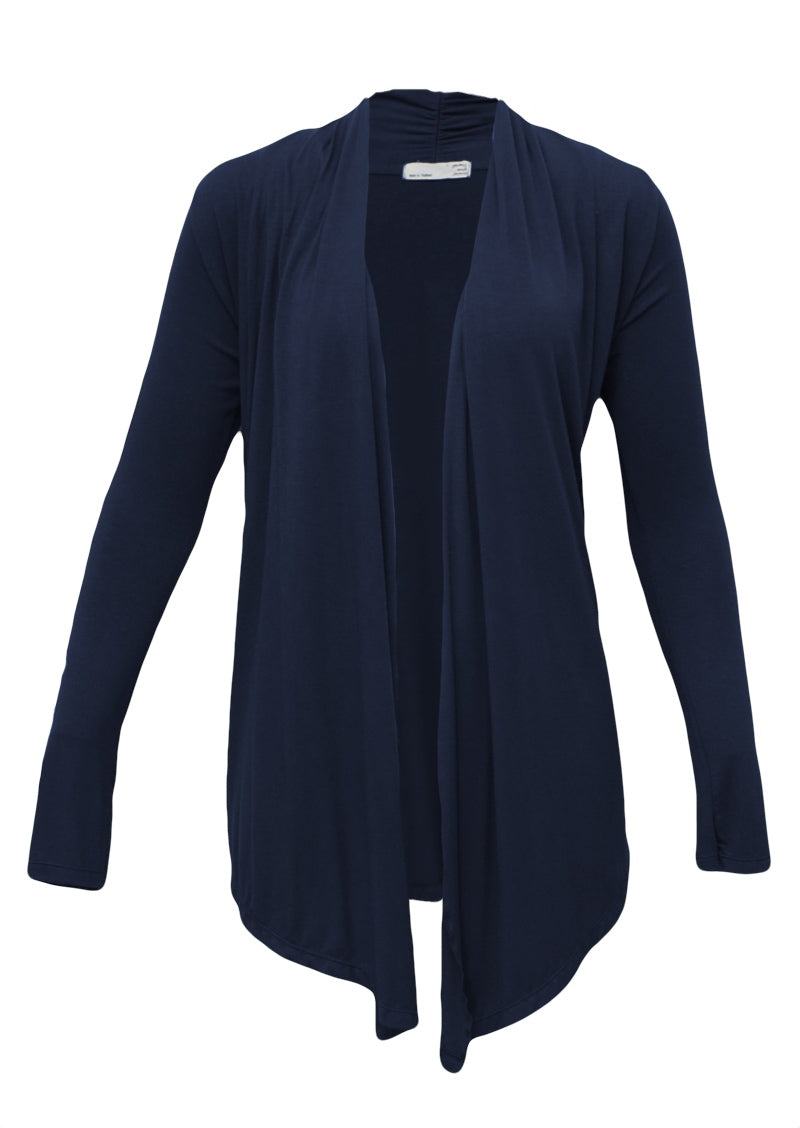 Long Sleeve Stretch Cardi Midnight