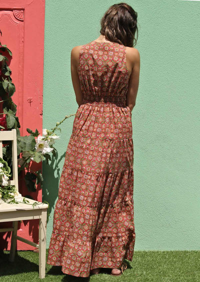 Belle Maxi Dress Banksia