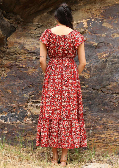 Nakita Dress Desert Rose