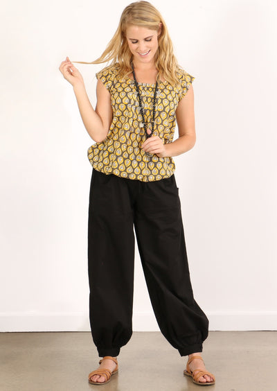 Acapulco Pants Black