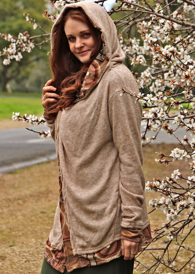 Arwen Hooded Jacket Camel