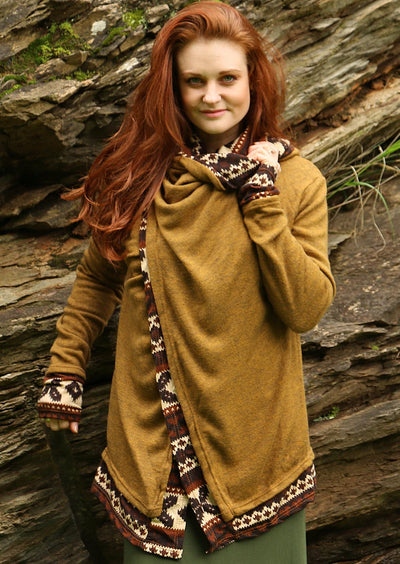Arwen Hooded Jacket Tan