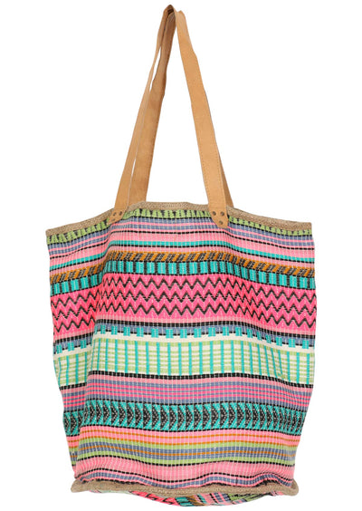 Colourful Days Large Woven Bag
