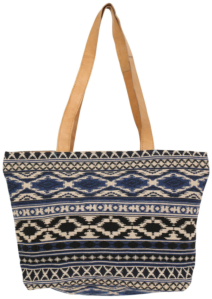 Midnight Aztec Bag