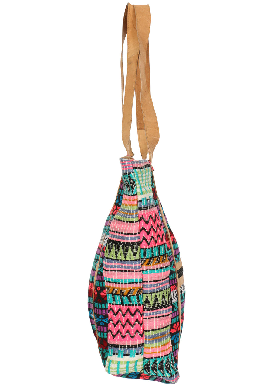 Colourful Nights Woven Tote
