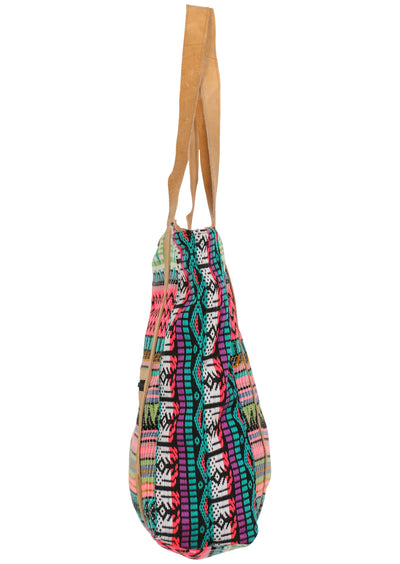 Colourful Days Woven Tote