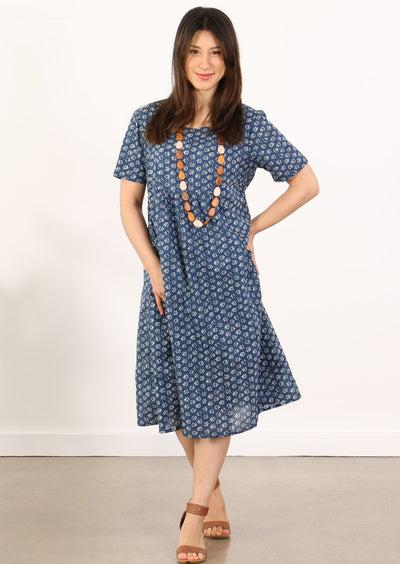 Frankie Dress Bluebell