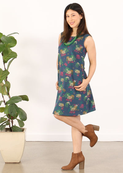 Dori Dress Botanical