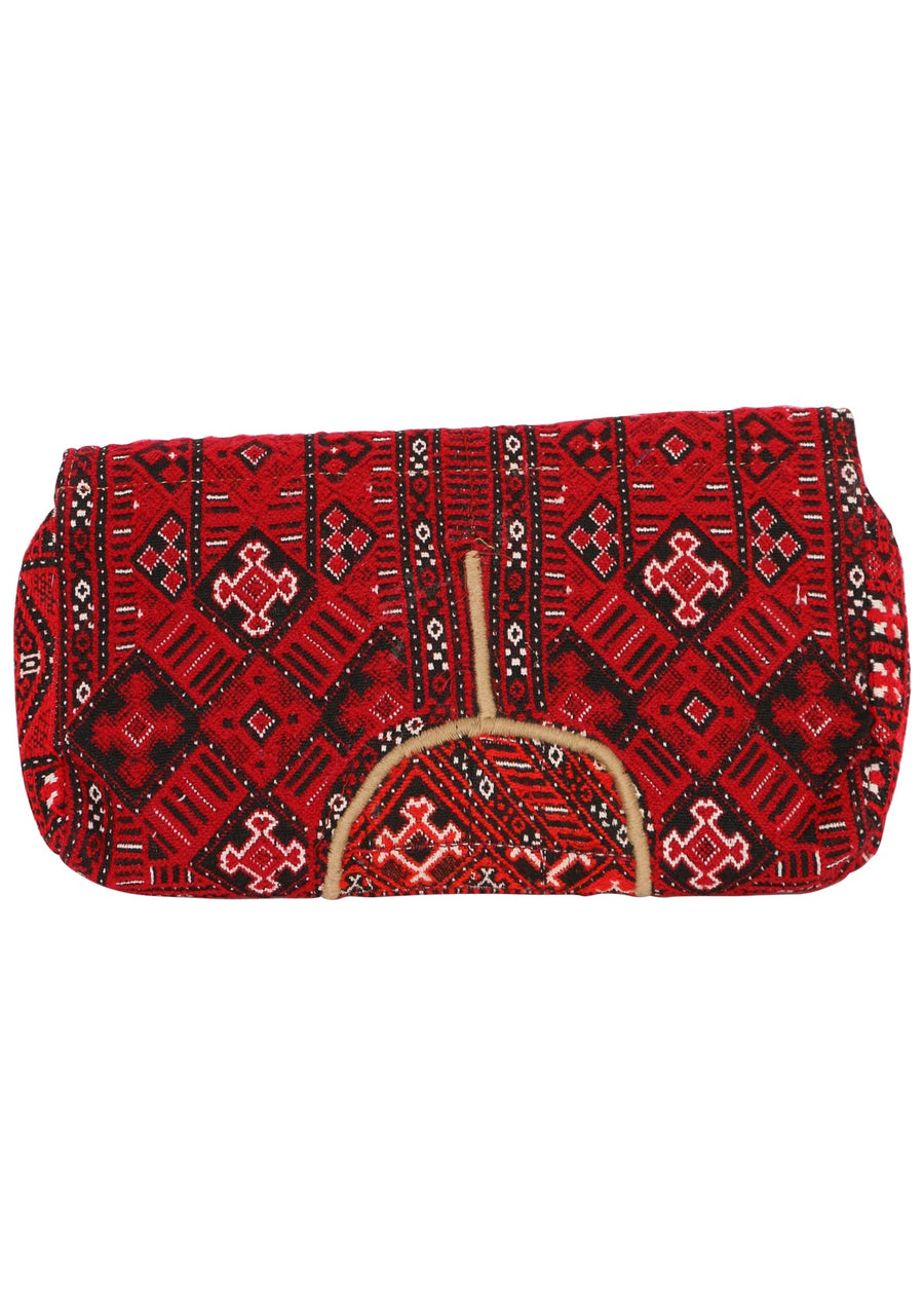 Vintage Bohemian Purse Red | Karma East Australia