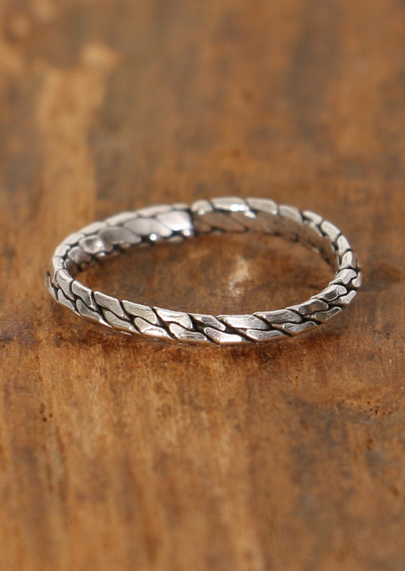 Silver Links Toe Ring