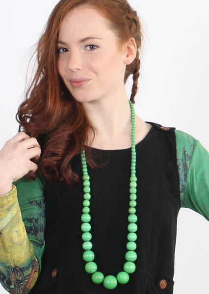 Mandy Necklace Green