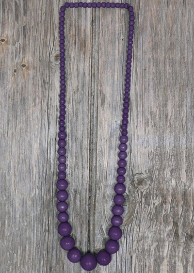 Mandy Necklace Purple