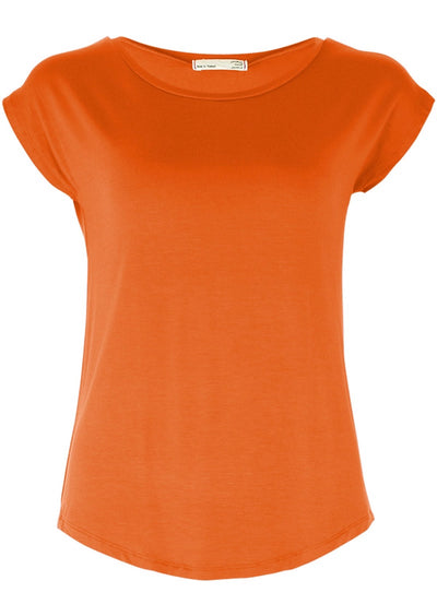 Shell T-shirt Orange