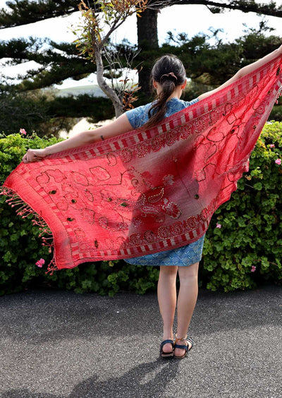 Wool Shawl 199