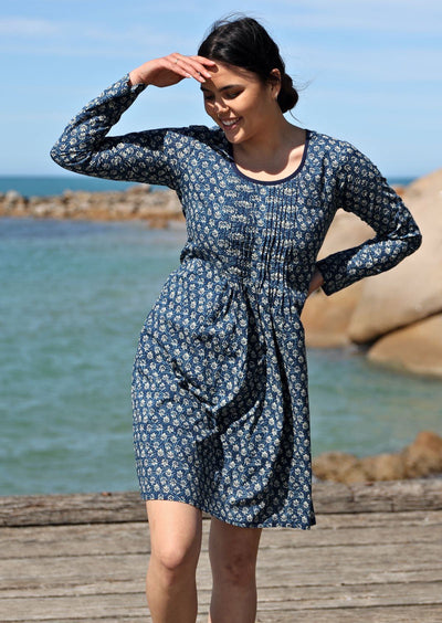 Bluebell Long Sleeve Tulsi Dress