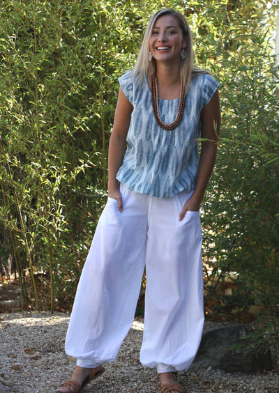 Acapulco Pants White