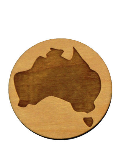 Small Australia Brooch