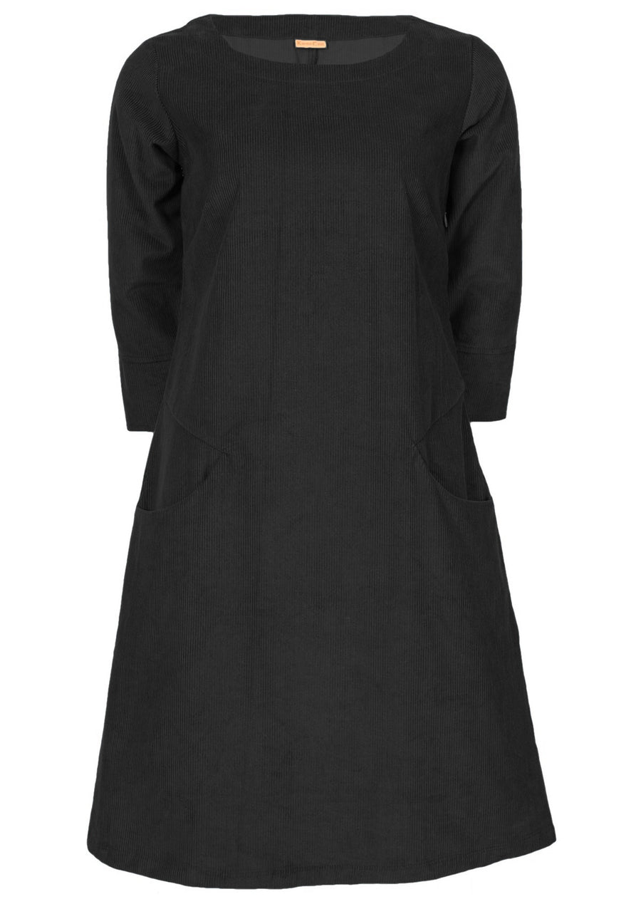 Jamie Cord Dress Black