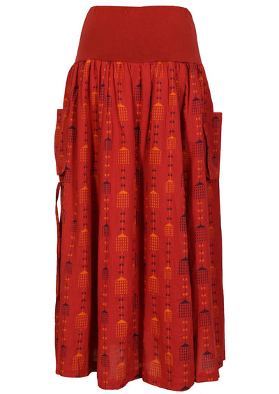 Two Tribes Dhoti Skirt