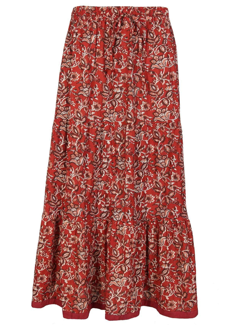 Maxi Skirt Desert Rose