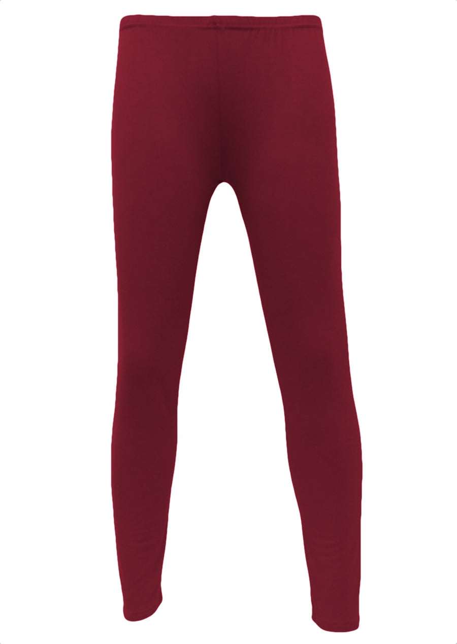 Leggings Maroon