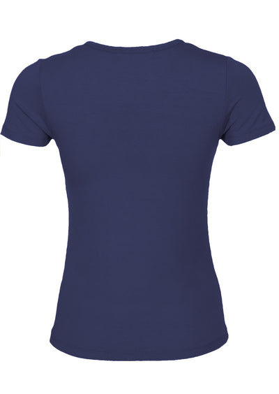Scoop Neck T-Shirt Midnight