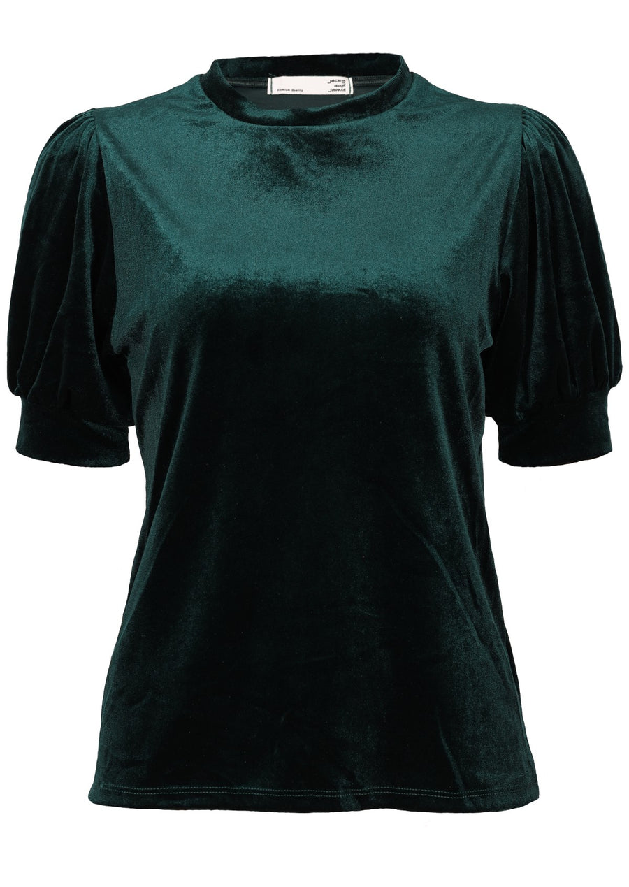 Aladdin Velvet Top Emerald