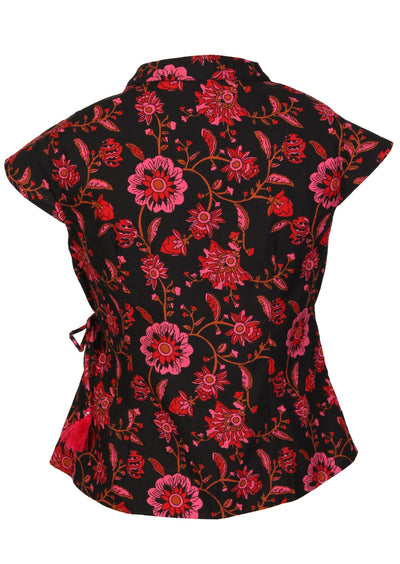 Grace Top Raspberry Swirl