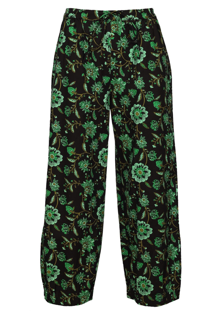 Greta Pants Lime Swirls