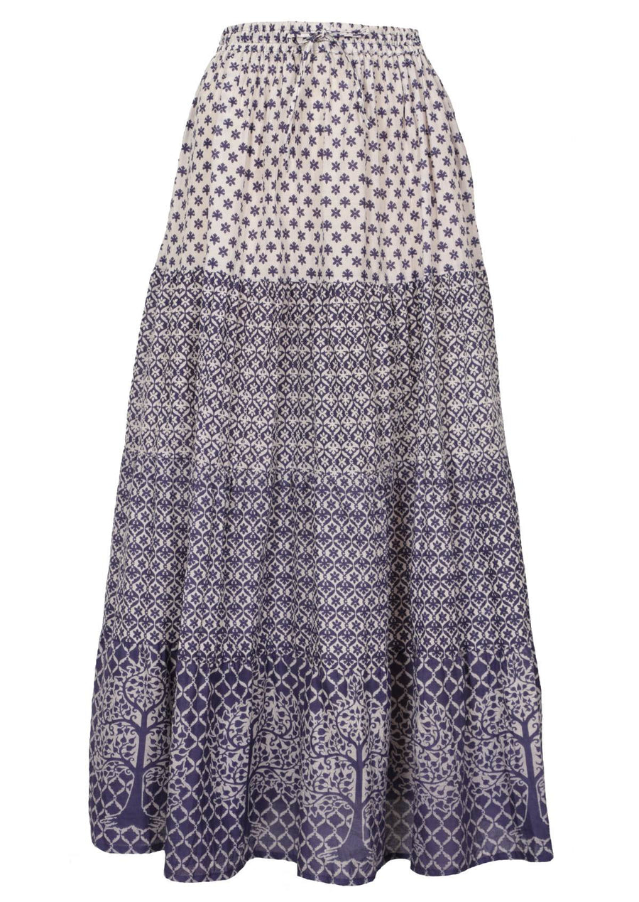 Maxi Skirt Temple Blue