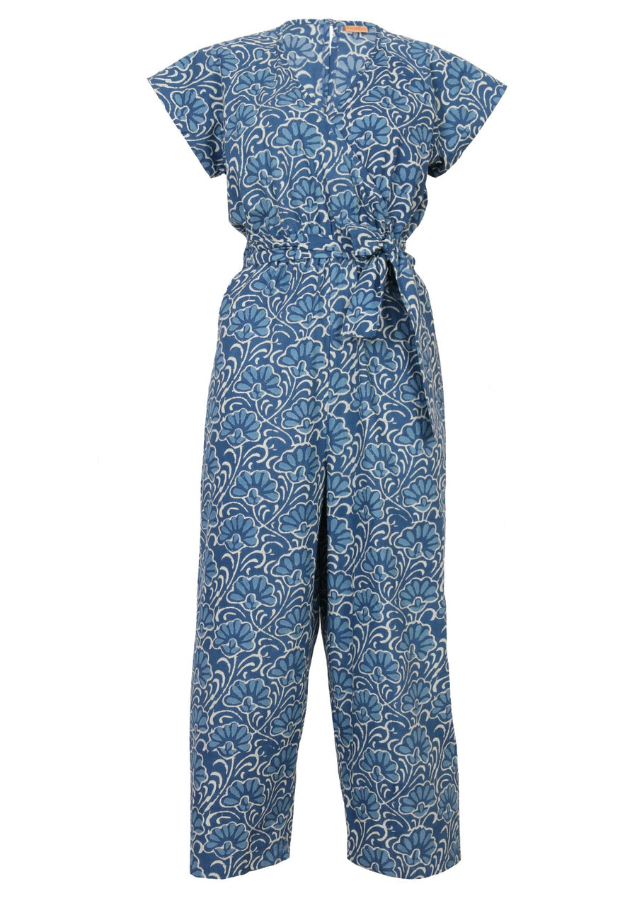 Jarita Jumpsuit Blue Lotus
