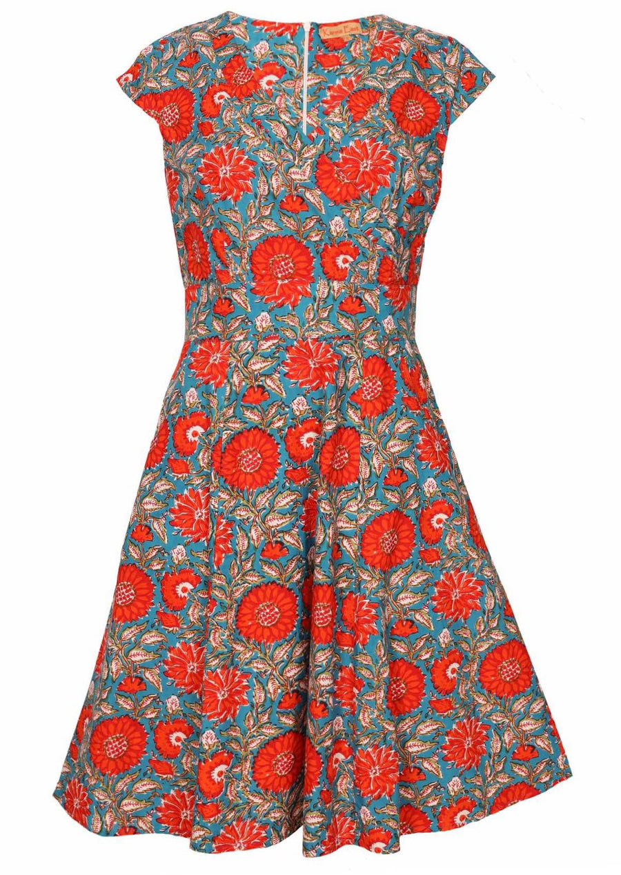 Alice Dress Zinnia