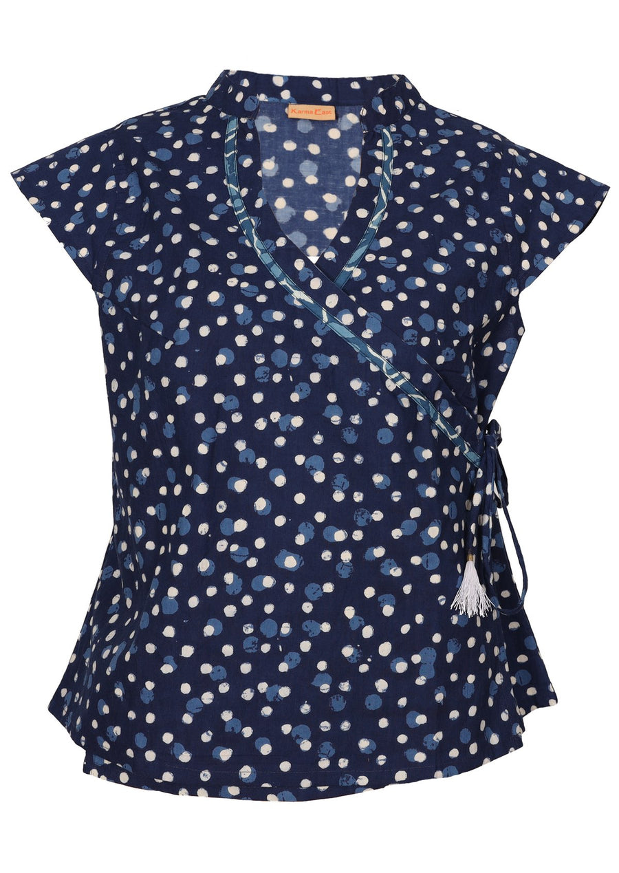 Grace Top Speckled
