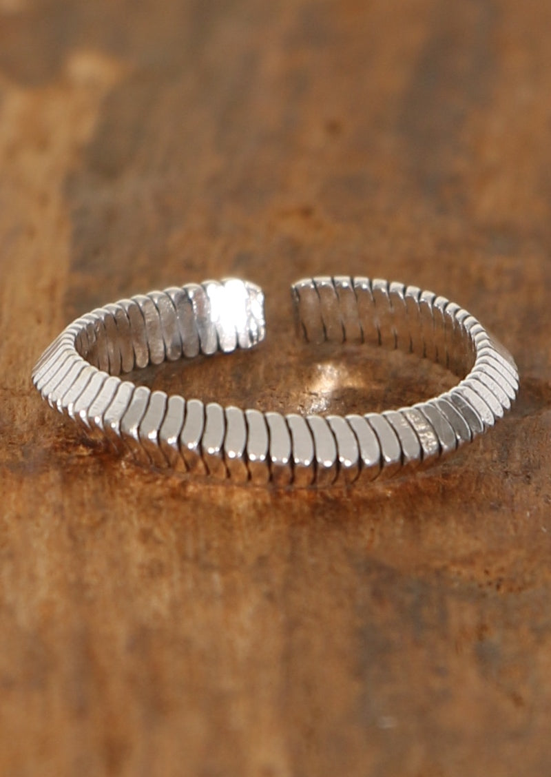 Silver Connecting Toe Ring