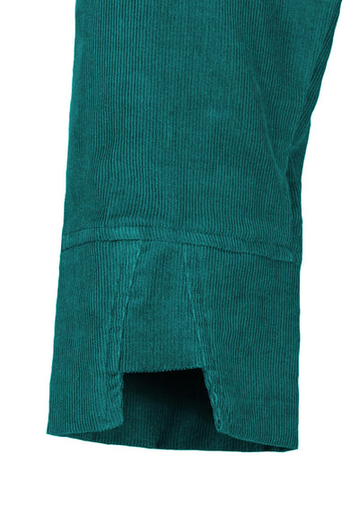 3/4 Sleeve Cord Dress Teal