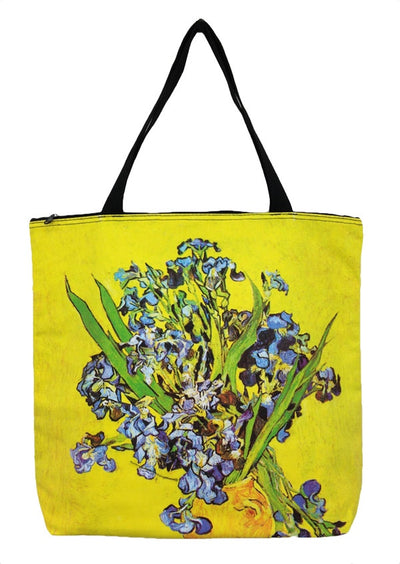 Art Print Bag Van Gogh Irises