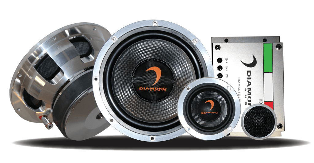 Diamond Audio To Introduce Diamante Italia Edition 3-Way Component Speakers at SEMA!