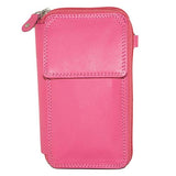Hotpink Small Leather Bag