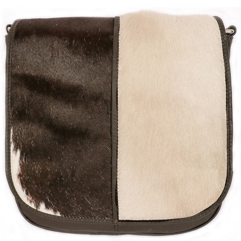 HOP830 | Hairon Leather Flap Cross Body Bag ash-cenzoni.myshopify.com