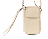 Beige Small Leather Bag