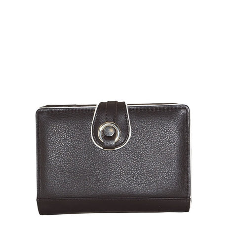 ZLW02(S) (NRF) | Medium Brown Ladies Wallet