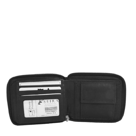 ZMAT81 | Men's Zip Around Wallet
