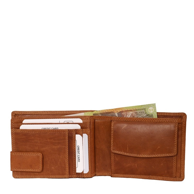 ZOPW2302 | Oil Pull-up Leather Men's Wallet Wholesale Importer ash-cenzoni.myshopify.com