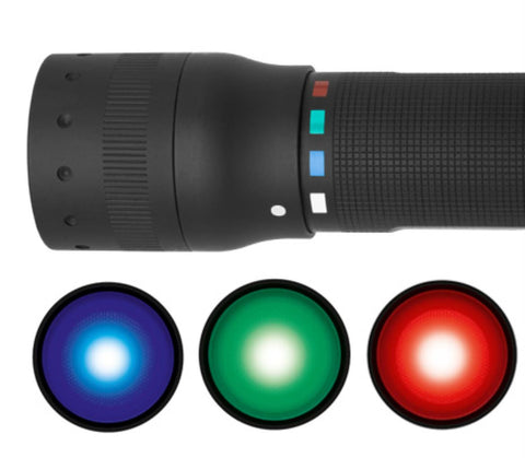 Led Lenser P7 Quattro Colour Torch