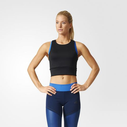 Adidas Womens Speed Crop Tank