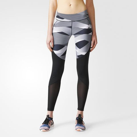 Adidas Womens Ultimate Cut And Sew Long Tights