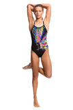 Funkita Girls Wing Attack Single Strap 1 Piece