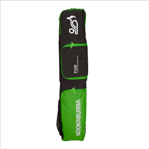 Kookaburra Fuse Hockey Bag Black/Lime