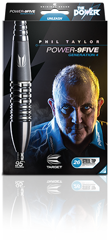 Target Phil Taylor Power-9Five Gen4 Darts