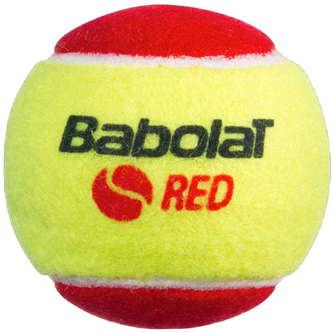 Babolat Stage 3 Junior Red Felt Tennis Ball (x3)
